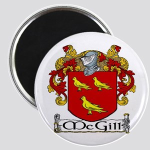 """McGill Coat of Arms 2.25"""" Magnet (10 pack)"""