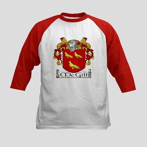 McGill Coat of Arms Kids Baseball Jersey