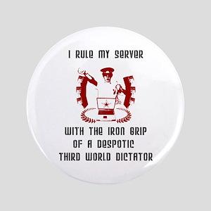 """Admin Dictator"" 3.5"" Button"