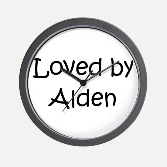 Unique Alden Wall Clock