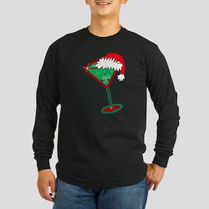 Christmastini Long Sleeve Dark T-Shirt