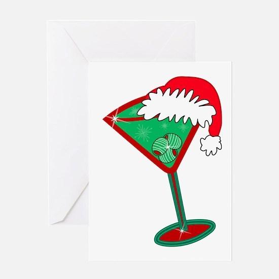 Christmastini Greeting Card