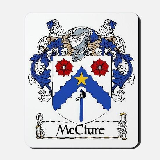 McClure Coat of Arms Mousepad
