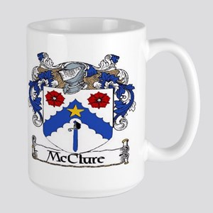 McClure Coat of Arms Large Mug