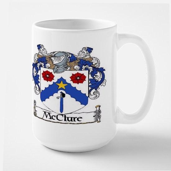 McClure Coat of Arms Large Mug