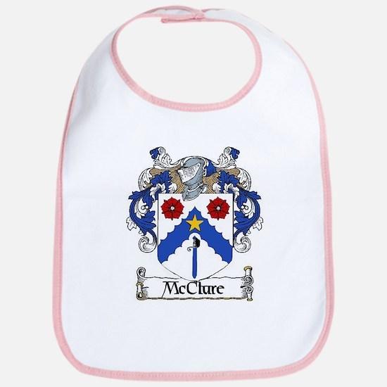 McClure Coat of Arms Bib