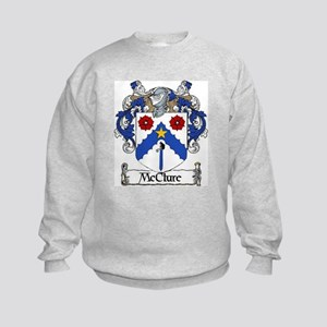 McClure Coat of Arms Kids Sweatshirt