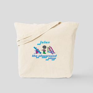 Jalen - Playground Pimp Tote Bag