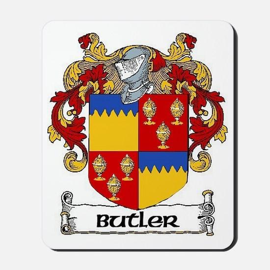 Butler Coat of Arms Mousepad
