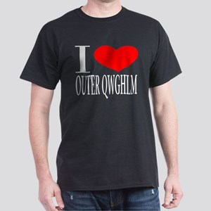 I LOVE OUTER QWGHLM Dark T-Shirt