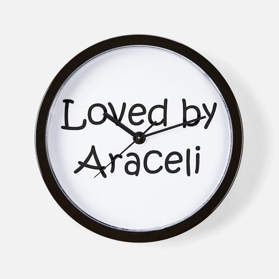 Unique Araceli Wall Clock