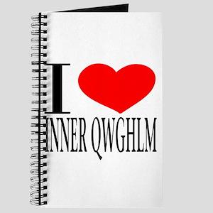 I LOVE INNER QWGHLM Journal