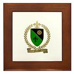 MOISAN Family Crest Framed Tile