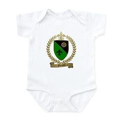 MOISAN Family Crest Infant Creeper