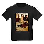 Absinthe Drinker Kids Dark T-Shirt