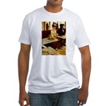 Absinthe Drinker Fitted T-Shirt