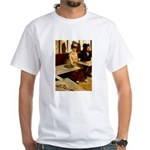 Absinthe Drinker White T-Shirt