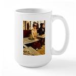Absinthe Drinker Large Mug