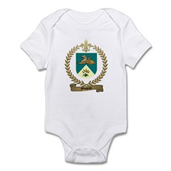 MOQUIN Family Crest Infant Creeper