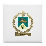 MOQUIN Family Crest Tile Coaster