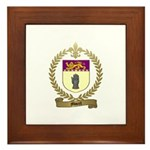 MOREL Family Crest Framed Tile
