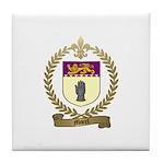 MOREL Family Crest Tile Coaster