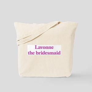 Lavonne the bridesmaid Tote Bag