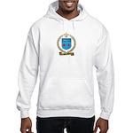 MORENCY Family Crest Hooded Sweatshirt