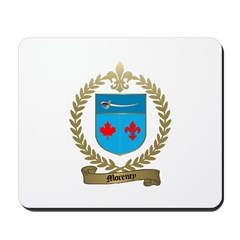 MORENCY Family Crest Mousepad