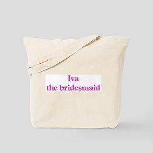 Iva the bridesmaid Tote Bag
