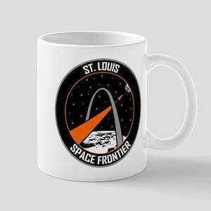 St. Louis Space Frontier Logo Mugs