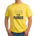 JOE THE PLUMBER Yellow T-Shirt