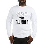 JOE THE PLUMBER Long Sleeve T-Shirt