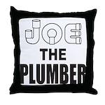 JOE THE PLUMBER Throw Pillow