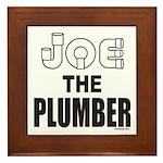 JOE THE PLUMBER Framed Tile