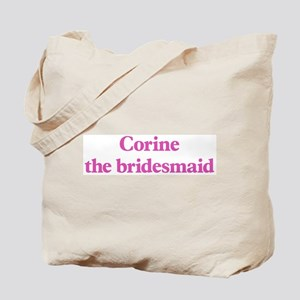 Corine the bridesmaid Tote Bag