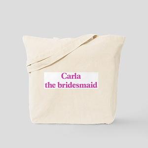 Carla the bridesmaid Tote Bag