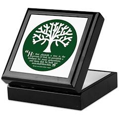 Planteth A Tree Keepsake Box