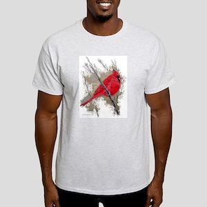 Cardinal Ash Grey T-Shirt