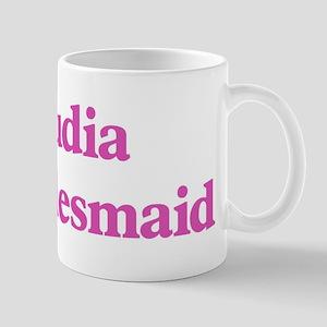 Claudia the bridesmaid Mug