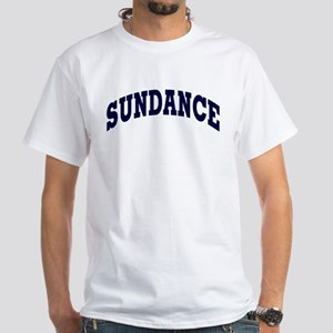 SUNDANCE White T-Shirt