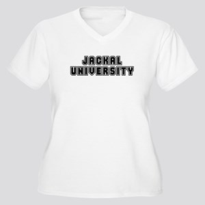 University Women's Plus Size V-Neck T-Shirt