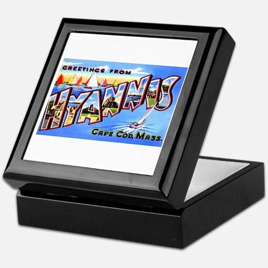 Hyannis Cape Cod Massachusetts Keepsake Box