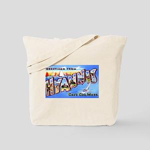 Hyannis Cape Cod Massachusetts Tote Bag
