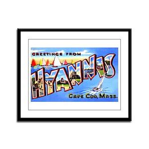 Hyannis Cape Cod Massachusetts Framed Panel Print