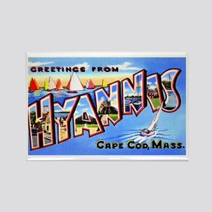 Hyannis Cape Cod Massachusetts Rectangle Magnet