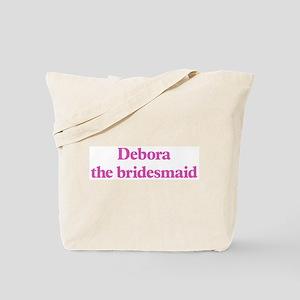 Debora the bridesmaid Tote Bag