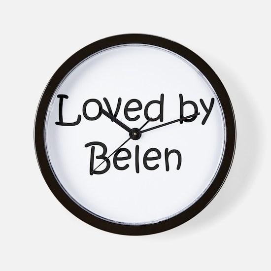 Cute Belen Wall Clock
