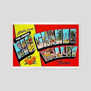 Rio Grande Valley Texas Rectangle Magnet