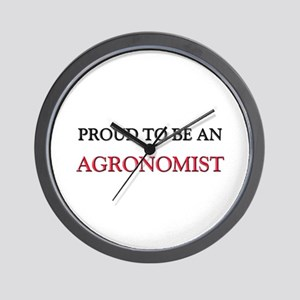 Proud To Be A AGRONOMIST Wall Clock